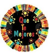 "9"" Que Te Mejores (Spanish Get Well)"