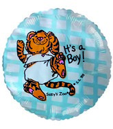 "2"" Airfill Suzy Zoo It's a Boy Balloons"