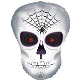 """20"""" Spider Skull Dude balloon"""