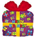 """22"""" Happy Birthday Jumbo Present"""