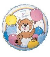 "18"" Happy 1st Birthday Suzy Zoo"
