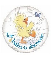 """18"""" For Baby's Shower Duck in Puddle"""