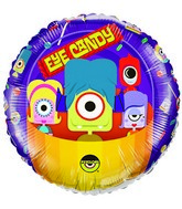 """18"""" Psyclops Eye Candy Licensed Mylar Balloon Packaged"""