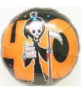 "18"" 40th B-Day Grim Reaper"