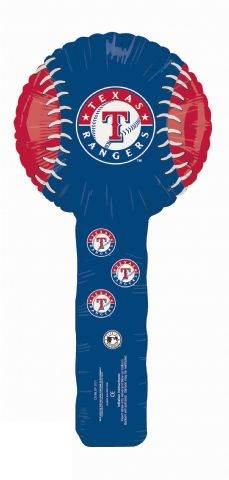 Air Filled Hammer Balloon Texas Rangers