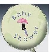 "18"" Mod Baby Shower Slightly Damaged Print"