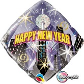 """18"""" Holographic New Year Countdown Balloon"""