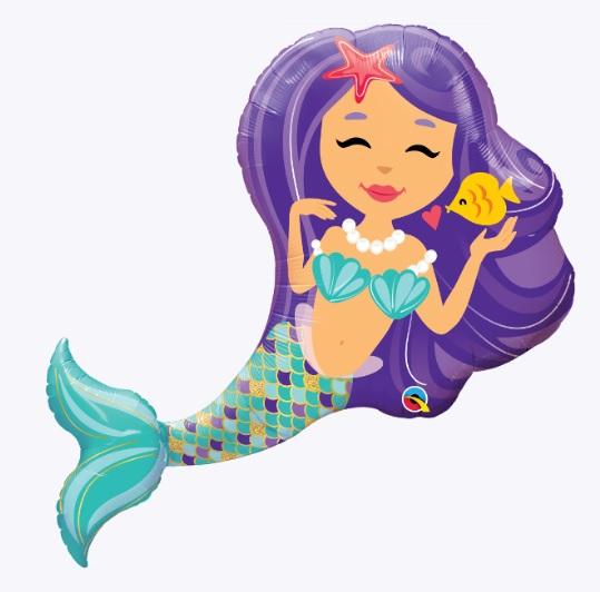"""38"""" Enchanting Mermaid Balloon"""