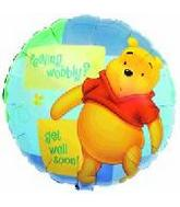 "32"" Feeling Wobbly Get Well Soon Pooh"