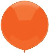 "17"" Outdoor Display Balloons (72 Count) Bright Orange"