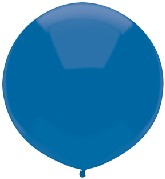 """17"""" Outdoor Display Balloons (72 Count) Midnight Blue"""