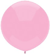 """17"""" Outdoor Display Balloons (72 Count) Real Pink"""