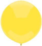 "17"" Outdoor Display Balloons (72 Count) Sun Yellow"