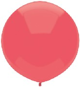 """17"""" Outdoor Display Balloons (72 Count) Watermelon Red"""