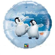 Happy Feet Mylar Balloons