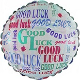 """18"""" Good Luck Repeated"""