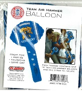 Collegiate Hammer Balloons Mylar Balloons