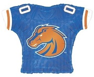 """23"""" Boise State Broncos Jersey Balloon"""