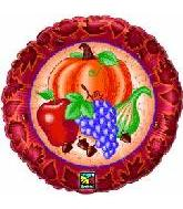 "18"" Harvest Fruits Balloon"