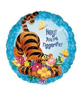 "18"" You're Tiggerigfic Disney Licensed Balloon"
