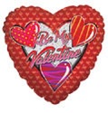 "4"" Airfill Be My Valentine Pattern Hearts"