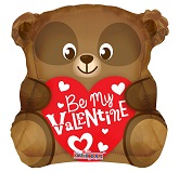 "18"" Be My Valentine Bear Shape"