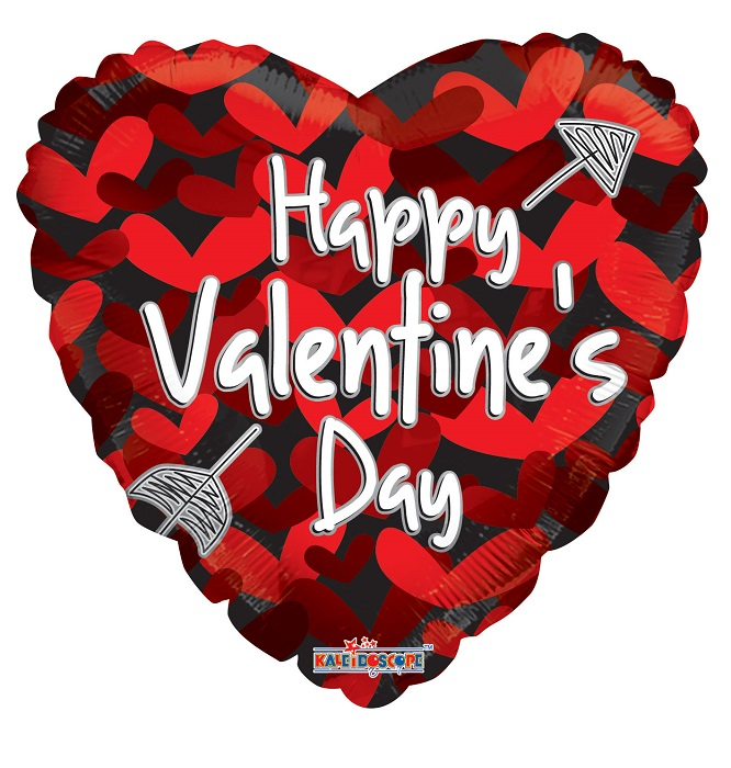 """18"""" Valentine's Many Hearts Balloon"""