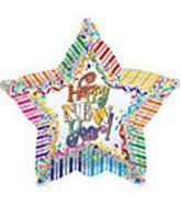"""18"""" Rainbow New Years"""