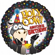 "36"" Holy Cow Birthday Balloons"