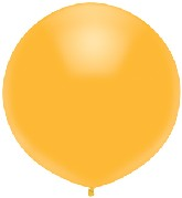 """17"""" Outdoor Display Balloons (72 Count) Radiant Gold"""