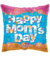 "36"" Happy Mom's Day Square Balloon"