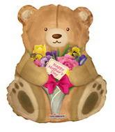 "36"" Happy Mother's Day Cuddly Teddy"