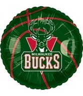 "18"" NBA Basketball Milwaukee Bucks"