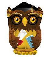 """28"""" Wise Old Grad Owl Graduation Balloon"""