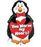 "25"" Warm My Heart Penguin (Slight Damage Print)"