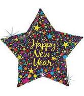 Jumbo Starry New Years Balloons