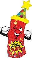 "43"" Happy Birthday Firecracker Blast"