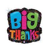"25"" Big Thanks Balloon"