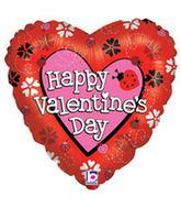 """18"""" Love Bug Valentine's Day Balloon"""