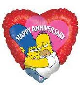 The Simpsons Mylar Balloons
