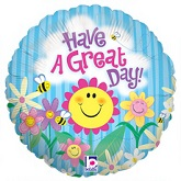 "18"" Happy Garden Great Day Balloon"