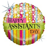 """18"""" Assistant's Day Fashion Balloon"""