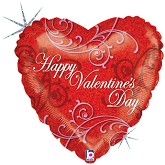 "18"" Lavish Valentine Holographic"