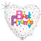 "18"" Best Friends Foil Balloon"