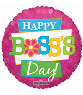 Boss's Day Mylar Balloons