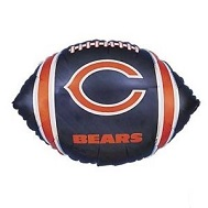 """9"""" Airfill Only NFL Balloon Chicago Bears"""