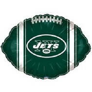 """9"""" Airfill Only NFL Balloon New York Jets"""