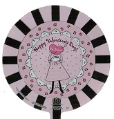 "9"" Airfill Happy Valentine's Day Be Mine Doily"