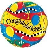 """36"""" Congratulations! Jumbo Mylar Balloon"""