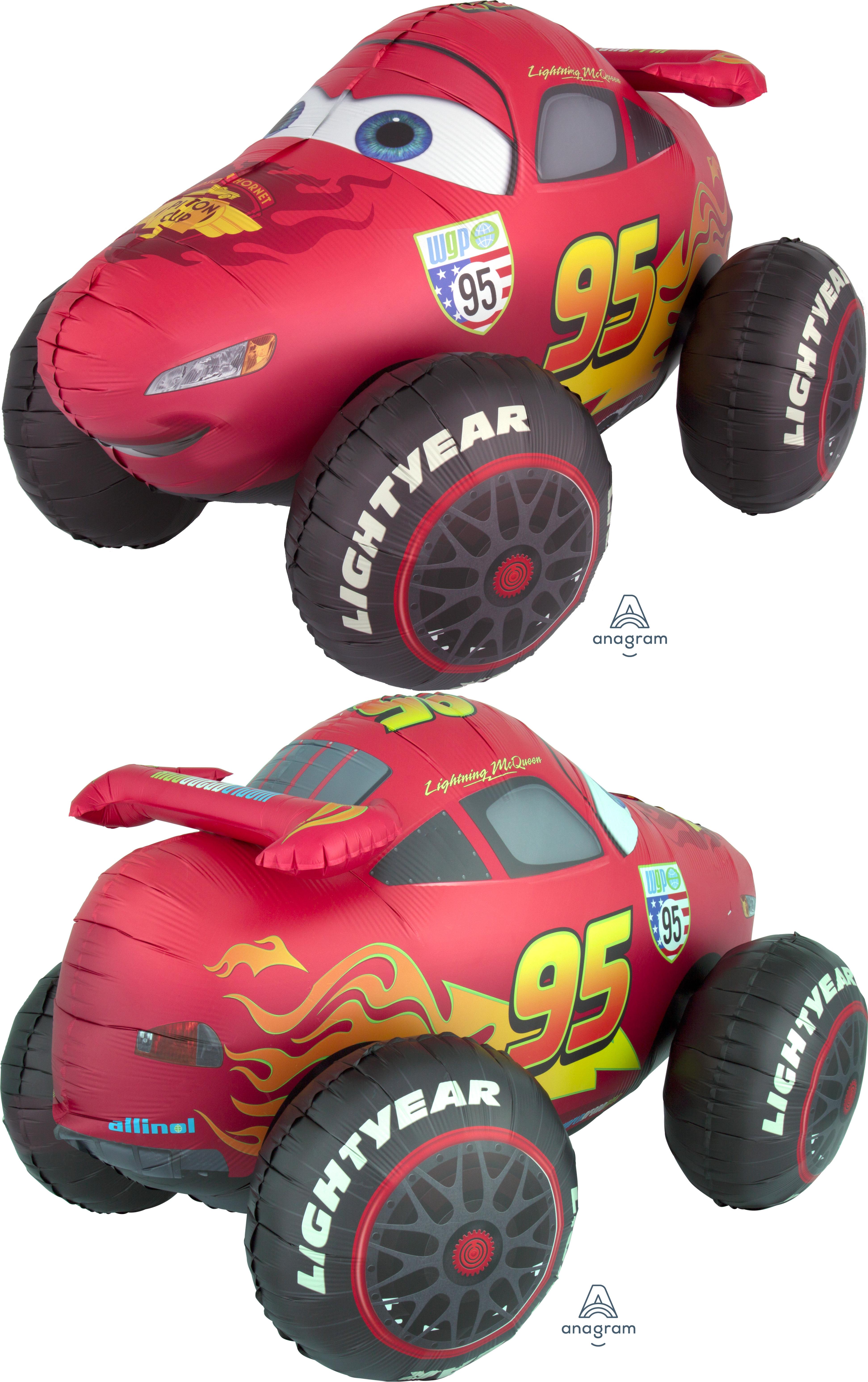 "41"" Airwalker Cars Balloon"